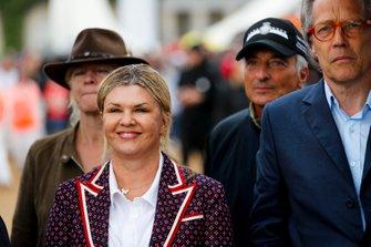 Corinna Schumacher and Lord March Corinna Schumacher at the Michael Schumacher Celebration