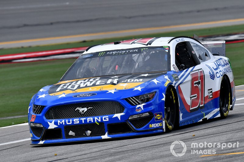 B.J. McLeod, Petty Ware Racing, Ford Mustang JACOB COMPANIES