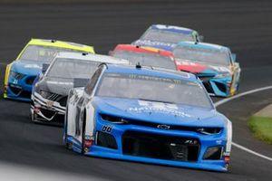 Alex Bowman, Hendrick Motorsports, Chevrolet Camaro Nationwide and Aric Almirola, Stewart-Haas Racing, Ford Mustang Smithfield / Meijer