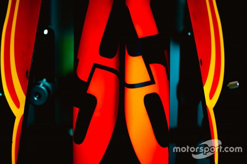 Capó del motor Red Bull RB15