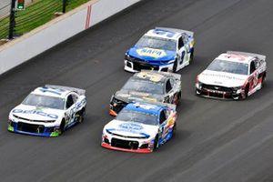 Ty Dillon, Germain Racing, Chevrolet Camaro GEICO and Ryan Preece, JTG Daugherty Racing, Chevrolet Camaro Kroger