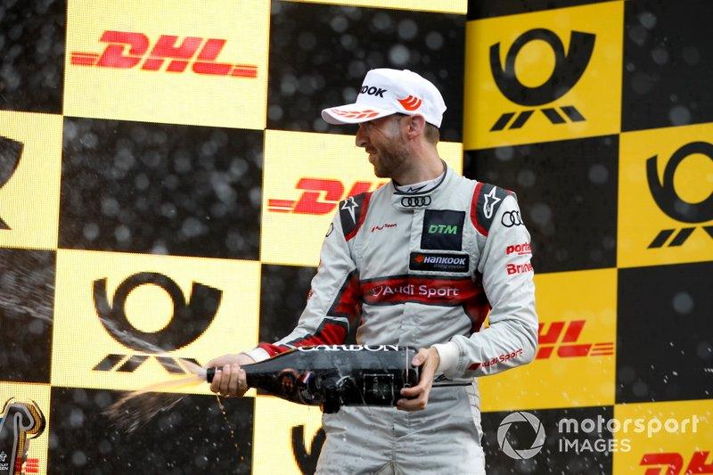 Podio: René Rast, Audi Sport Team Rosberg