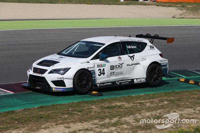 Matteo Greco, Sc. del Girasole - Cupra Racing, Cupra TCR SEQ