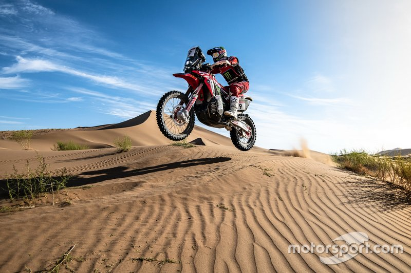 Nacho Cornejo, Monster Energy Honda Team, Honda CRF 450 Rally