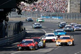 Loic Duval, Audi Sport Team Phoenix, Audi RS 5 DTM, Sheldon van der Linde, BMW Team RBM, BMW M4 DTM, Jamie Green, Audi Sport Team Rosberg, Audi RS 5 DTM, René Rast, Audi Sport Team Rosberg, Audi RS 5 DTM