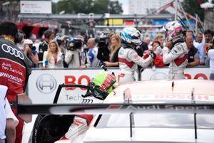 Parc ferme, Jamie Green, Audi Sport Team Rosberg, Audi RS 5 DTM