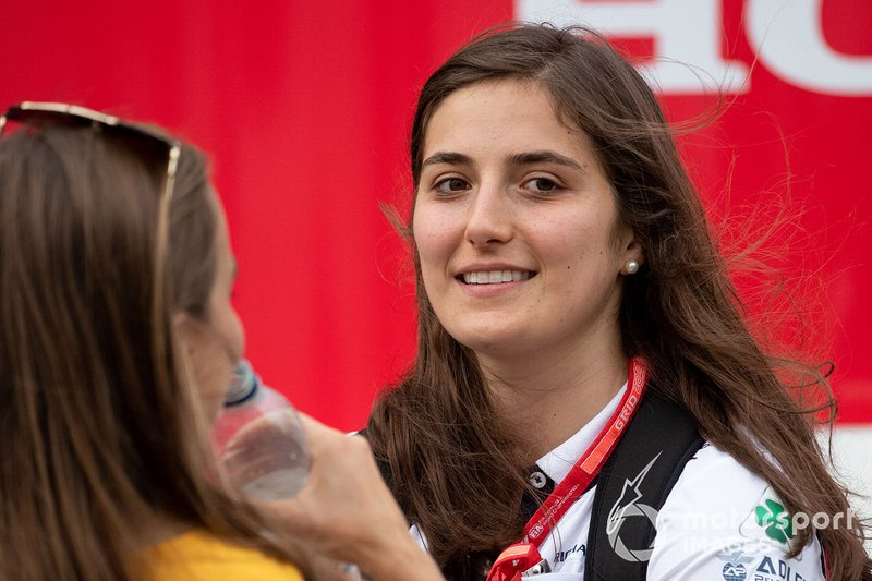 Tatiana Calderon, Test and Reserve Driver, Alfa Romeo Racing