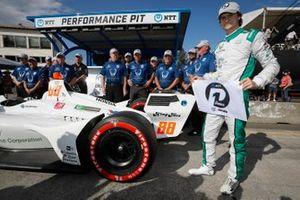 Pole pozisyonunun sahibi Colton Herta, Harding Steinbrenner Racing Honda