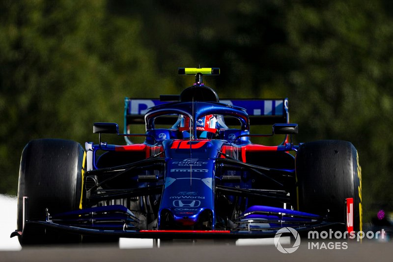 13: Pierre Gasly, Toro Rosso STR14, 1'46.435