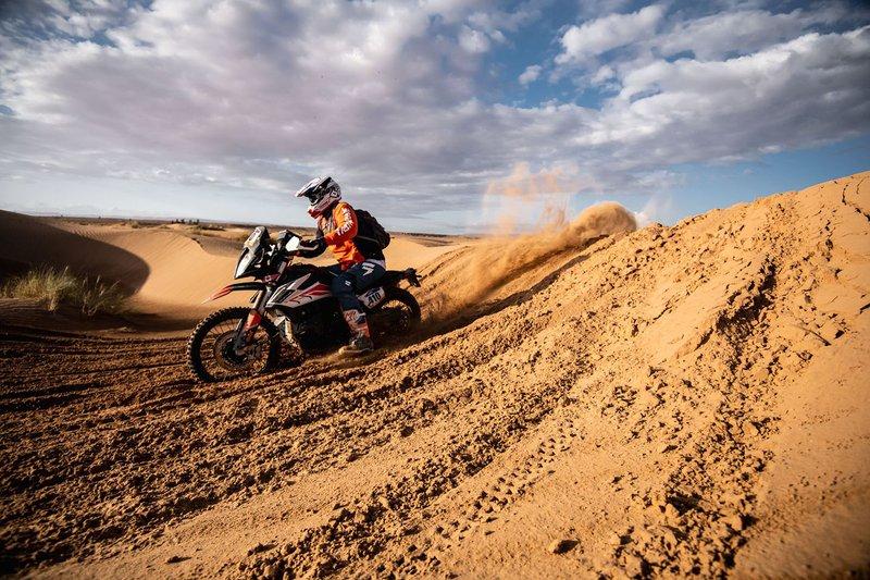 Motos en las dunas