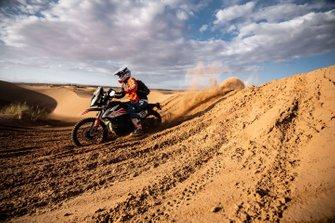 Bike action in the dunes