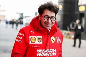 Mattia Binotto, directeur de Ferrari