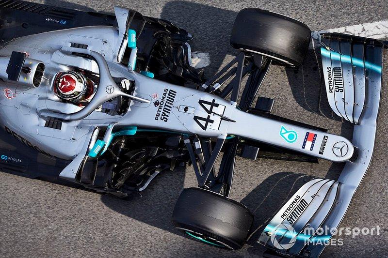 2019: Mercedes AMG F1 W10