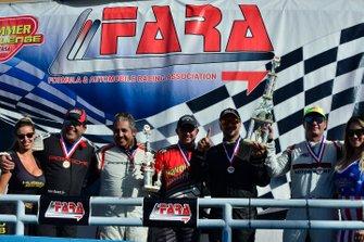 Luis Corbillon, Enrique Pretelt, Adan Ramos, George Hazbun, & Gabriel Ramos of NGT Motorsport