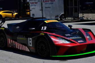 #13 MP2B KTM X-Bow driven by Chris Fountas of ANSA Motorsports