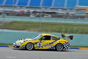#10 MP1B Porsche GT3 Cup driven by Bart Collins & Carter Fartuch of MCR Racing
