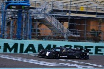 #57 FP1 Ginetta G57 driven by Brian Fowler & Bruno Junqueira of Ginetta USA