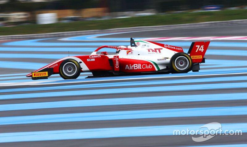 Enzo Fittipaldi venceu corrida 2 da etapa de Paul Ricard pela F3 Regional Europeia