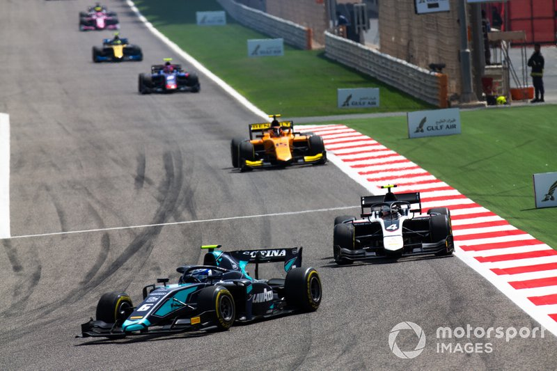 Nicholas Latifi, DAMS y Nyck De Vries, ART GRAND PRIX