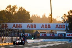 Antonio Felix da Costa, BMW I Andretti Motorsports, BMW iFE.18 at pit exit