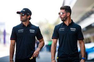 New team mates Felipe Nasr, Dragon Racing, Penske EV-3 and Jose Maria Lopez, GEOX Dragon Racing, Penske EV-3