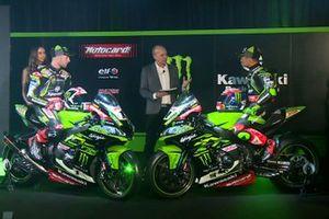 Jonathan Rea, Kawasaki Racing, Leon Haslam, Kawasaki Racing con la Ninja ZX-10RR, Kawasaki Racing
