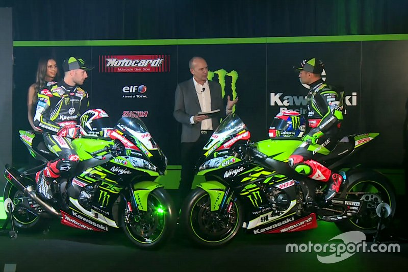 Jonathan Rea, Kawasaki Racing, Leon Haslam, Kawasaki Racing with the Ninja ZX-10RR, Kawasaki Racing