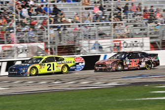 Paul Menard, Wood Brothers Racing, Ford Mustang Menards / MOEN and Corey LaJoie, Go FAS Racing, Ford Mustang Old Spice