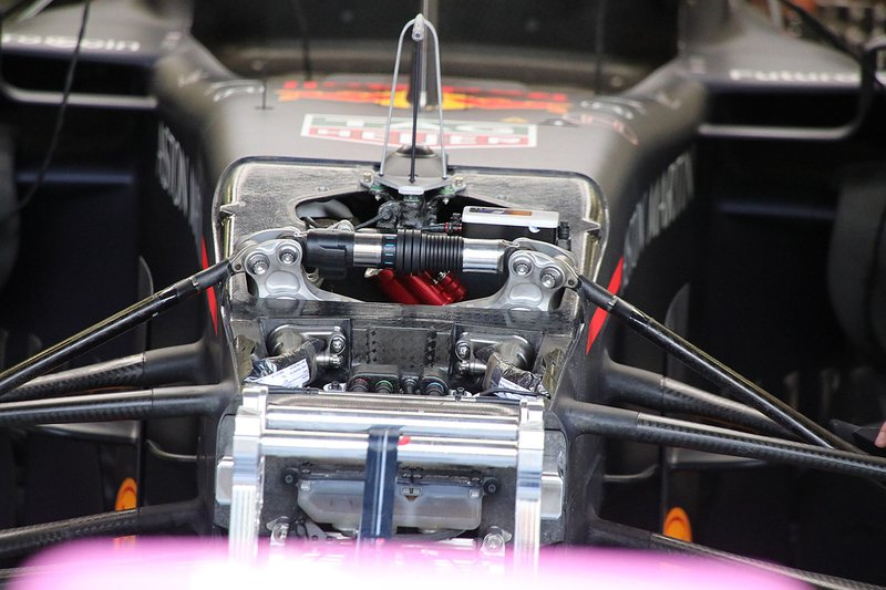 Red Bull RB15: Federung