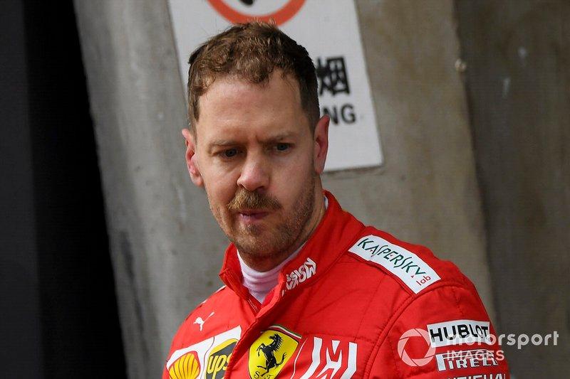 Себастьян Феттель, Ferrari, третє місце