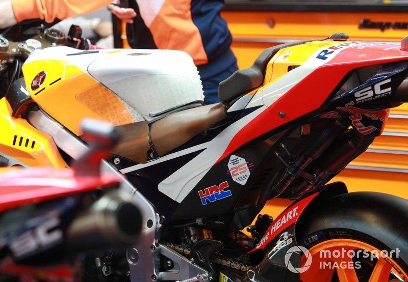 Jorge Lorenzo, Repsol Honda Team's bike