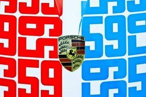 Porsche GT Team livery detail