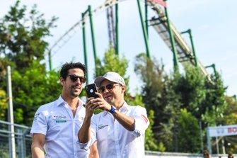 Lucas di Grassi, Audi Sport ABT Schaeffler, Felipe Massa, Venturi Formula E, take a selfie
