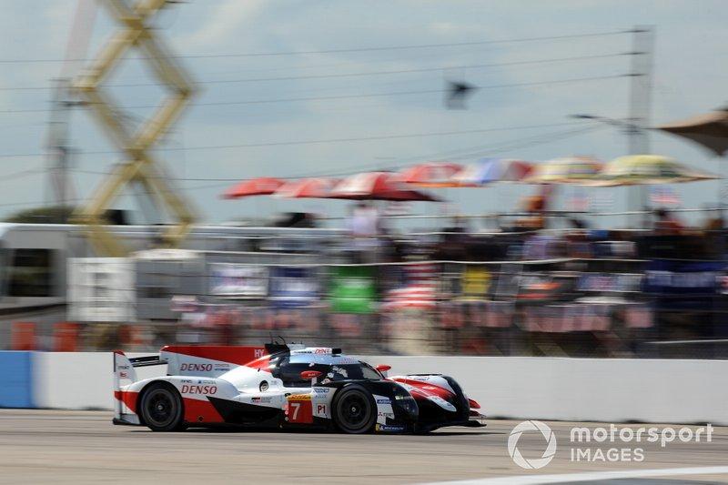 #7 Toyota Gazoo Racing Toyota TS050: Майк Конвей, Камуи Кобаяши, Хосе-Мария Лопес