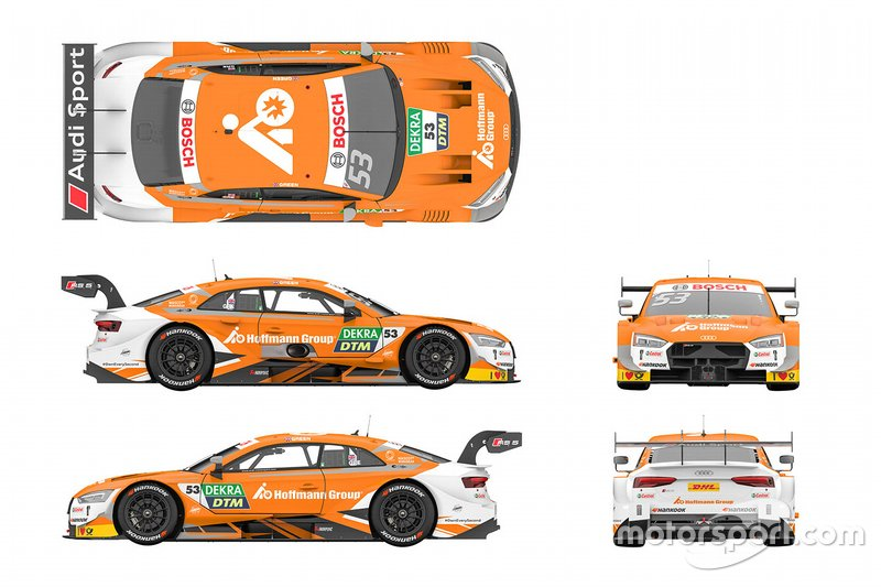 Автомобиль Audi RS5 DTM Джейми Грина