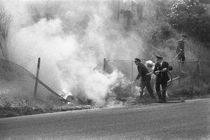 L'incidente di Piers Courage, De Tomaso 505/38-Ford