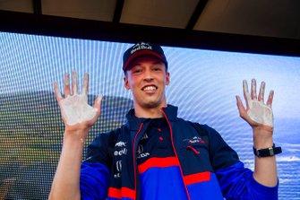 Daniil Kvyat, Toro Rosso, fait son empreinte