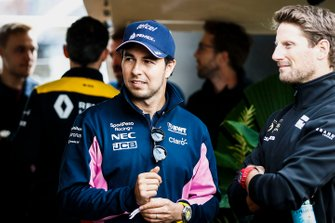 Sergio Perez, Racing Point on the way to the Federation Square event