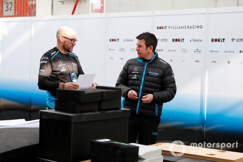 Mécaniciens et matériel de Williams Racing