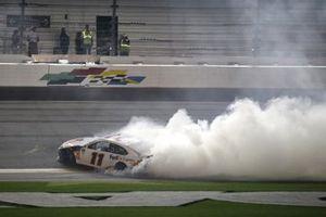 Denny Hamlin, Joe Gibbs Racing, Toyota Camry FedEx Express wins his second Daytona 500