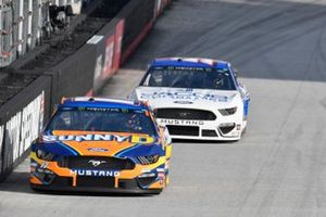 Ricky Stenhouse Jr., Roush Fenway Racing, Ford Mustang SunnyD, Gray Gaulding, Petty Ware Racing, Ford Mustang Jacob Companies