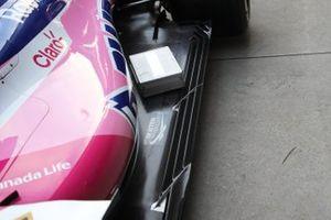 Racing Point RP19, dettaglio del fondo