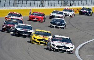 Brad Keselowski, Team Penske, Ford Mustang Discount Tire, Joey Logano, Team Penske, Ford Mustang Pennzoil