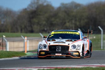 #7 Team Parker Racing Bentley Continental GT3 2019: Glynn Geddie ,Ryan Ratcliffe