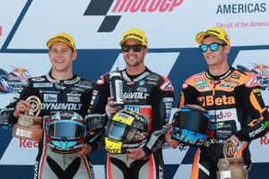 Marcel Schrotter, Intact GP, Thomas Luthi, Intact GP, Jorge Navarro, Speed Up Racing