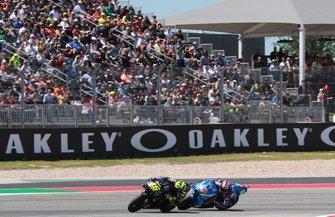 Valentino Rossi, Yamaha Factory Racing, Alex Rins, Team Suzuki MotoGP