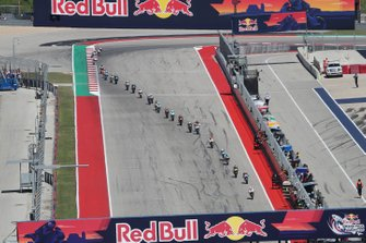 Moto3-Action in Austin