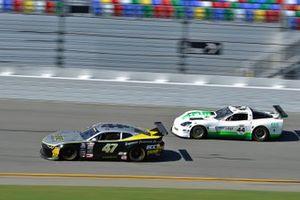 #47 TA2 Chevrolet Camaro driven by Greg Sacks of ECC Motorsports, #44 TA Chevrolet Corvette driven by AJ Henricksen of ECC Motorsports