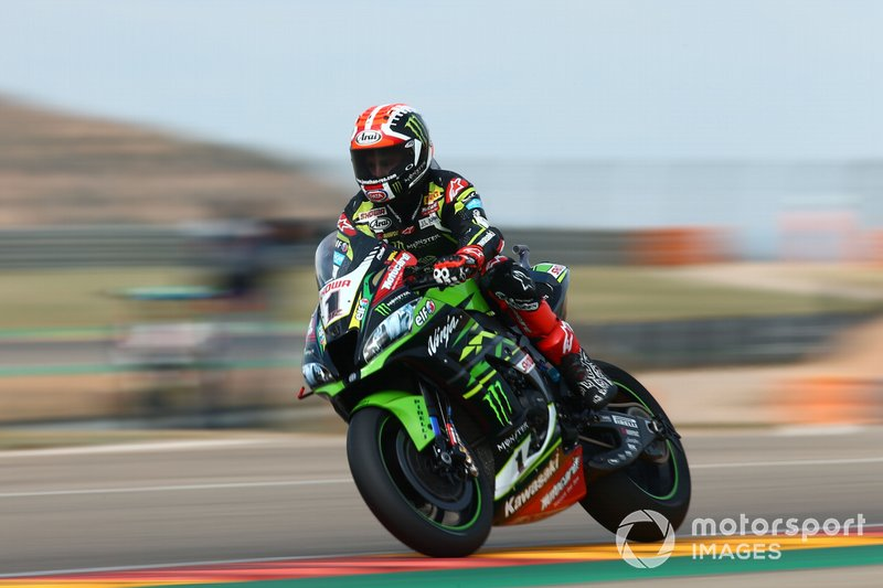 Jonathan Rea, Kawasaki Racing nearly loosing the front