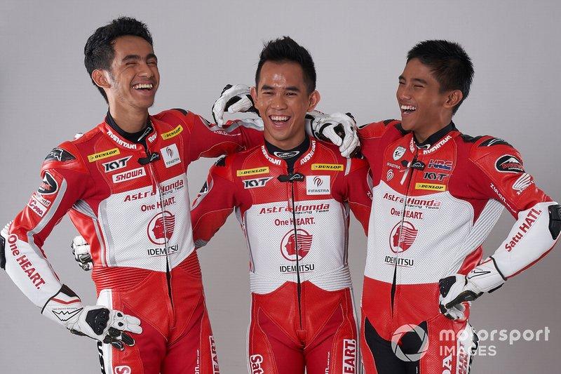 Andi Gilang, Gerry Salim dan Mario Suryo Aji, Astra Honda Racing Team